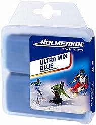 HOLMENKOL Hydro carbone Cire pour ski alpin et Nordic 2x 35g