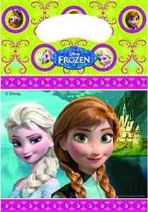 Disney - Kit de fêtes d'anniversaire - 6 SAC CADEAUX REINE DES NEIGES