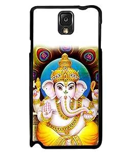 Snapdilla Designer Back Case Cover for Samsung Galaxy Note 3 :: Samsung Galaxy Note Iii :: Samsung Galaxy Note 3 N9002 :: Samsung Galaxy Note 3 N9000 N9005 (Design Statue Background Wallpaper Hindu Art Culture)