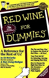 Red Wine For Dummies by Ed McCarthy (1996-10-14)