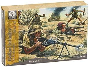 Waterloo AP006  - Maqueta Infantería de El Alamein 1942/43 2 ª Guerra Mundial (escala 1:72)