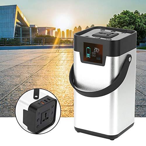 Preisvergleich Produktbild SISHUINIANHUA Tragbare 200W 52500mAh Solargenerator Energiespeicher Mobile Stromversorgung 100-120V US-Stecker Solarenergiegenerator