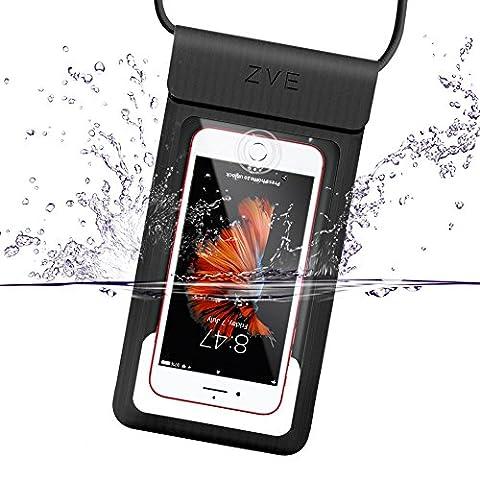 Universal Wasserdichte Hülle, ZVE® IPX8 Samsung S8 S7 iPhone 7