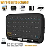 Wireless Keyboard, Linstar 2.4GHz Rechargeable Mini Keyboard with full Touchpad Fernbedienung and Mouse Combo for Android TV Box, PC