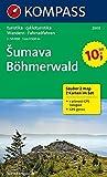 Böhmerwald/Sumava. 1 : 50 000. Wanderkarten-Set mit Naturführer D/CZ in der Nylontasche. Wandern, Rad. GPS-genau -
