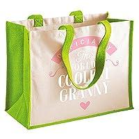 Granny Gift, Granny Birthday Bag, Personalised Granny Gift, Granny Present, Granny Bag, Great Granny Gifts, Granny Funny Gifts, Granny Gifts From Granddaughter, Granny Keepsake, Tote, Shopping Bag (Green)