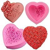IDEA HIGH Type 1: stampo antiaderente a forma di cuore per dolci, pasticceria al cioccolato, pane salato V4927