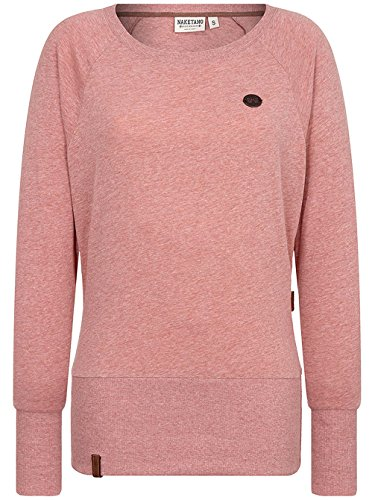 Naketano Female Sweatshirt Groupie VIII foggy rose melange