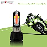 #8: Allextreme Universal Rtd M6 Led Headlight With Fan For All Bikes