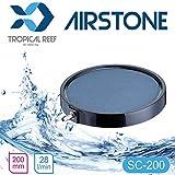 tropical-reef SC-200Koi Teich oder Aquarium 200mm 20,3cm Keramik rund Ausströmer Air Stone Disc Diffusor