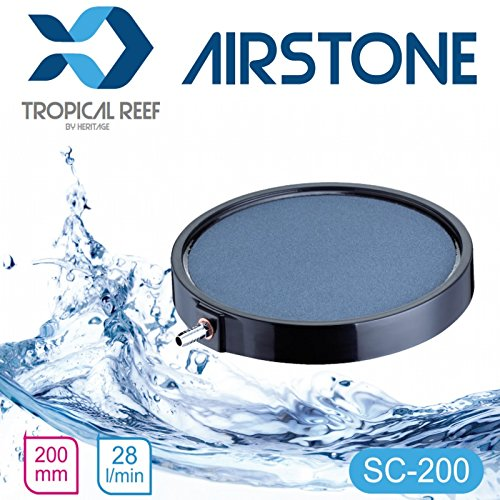 Classica as066 Koi étang ou aquarium 200 mm rond en céramique 20,3 cm Disque Diffuseur Air Stone Air pierre Diffuseur