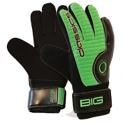 Classics Handschuh Big, verde acido - nero - bianco