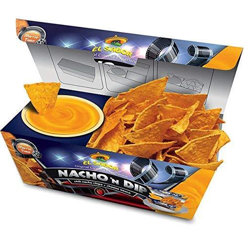 Preisvergleich Produktbild 6 Boxen Nacho n Dip Cheese - Chili Nachos mit Cheese Dip a 175g