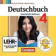 Deutschbuch 04: 8. Schuljahr. Übungs-CD-ROM zum Arbeitsheft. Realschule Baden-Württemberg