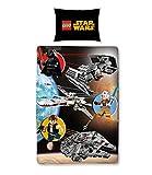 Lego Star Wars Kinder und Jungen Bettwäsche 2 tlg. 80x80