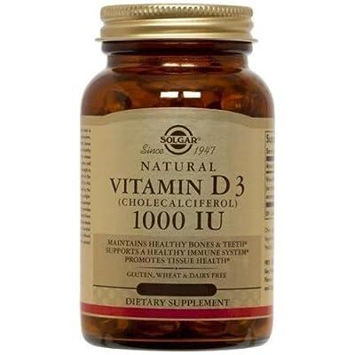 Solgar - Vitamin D3 Cholecalciferol 1000 IU - 250 Softgels by solgar