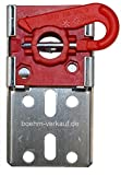 Becker Universal-Wandlager-L 3/25 für Rohrmotoren mit Rundem Steckzapfen, d = 25 mm.