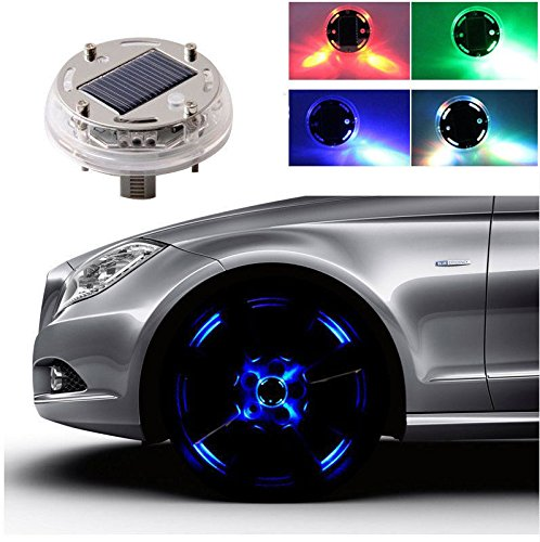 led light for wheels