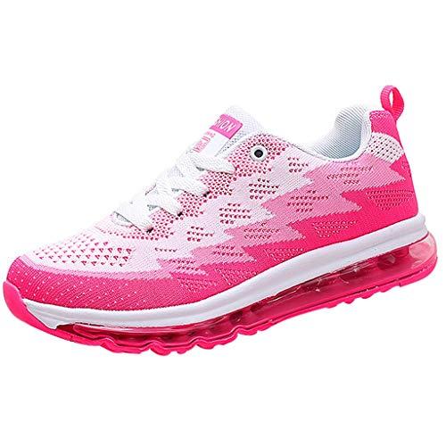 POLPqeD Scarpe Running Sneakers Uomo Donna Sport Scarpe da Ginnastica Fitness Respirabile Mesh Corsa Leggero Casual all'Aperto