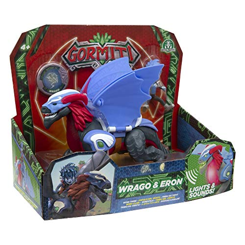 Giochi Preziosi Gormiti, Serie 2, Hyperbeasts Deluxe 15 cm, Wrago