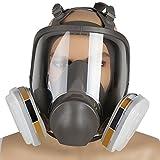 Enshey Vollgesicht-Gasmasken-Sprayfarbe für Chemikalien/Pestizide/Brandschutzformaldehyd/Dekoration/Nebel