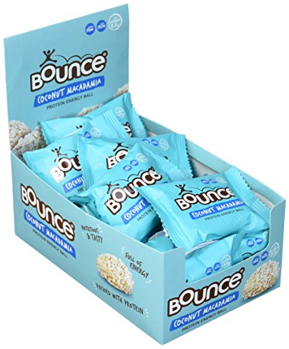 Bounce Protein Energy Ball Coconut Macadamia, 20er Pack (20 x 40 g) -