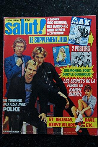 Salut ! 118 1980 POLICE KAREN CHERYL DAVE VILARD IGLESIAS par Les Trésors d Emmanuelle