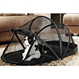 Pinji Pet Play Tent Indoor Outdoor Enclosure Pop Up Portable Mesh Dog Cat Camping Yard Balcony Deck Bed