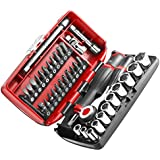 """Facom R360NANO.PG Coffret Compact de serrage 1/4"""" avec set de vissage 38 outils"""