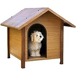 Copele-Caseta perro imitación madera Montana Midi