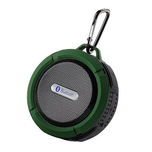 TOOGOO [Neueste Version] tragbare Mini-Verbindung drahtlose nachladbare Bluetooth V3.0 wasserdichte Lautsprecher 5w 145g IPX5 Anti Schock / Schnee / Staub + A2DP ciss Lautsprecher und Mikrofon integri