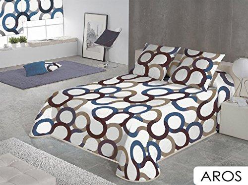 sabanalia-copriletto-timbrato-aros-disponibile-in-varie-dimensioni-cama-200-blu