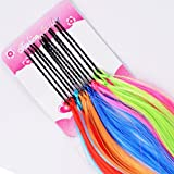 Majik Set Of 12 Coloured Hair Extensions...