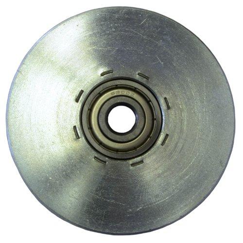 Seilrolle Stahl 84 mm Seil Ø 4 mm DO - 2