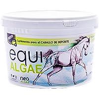 NEOALGAE MICRO SEAWEED PRODUCTS Suplemento con Vitaminas para Caballos | Rico en Vitaminas A, C, D, B y Biotina | Antiinflamatorio | Componentes 100% Naturales con Microalgas, Levadura y Cúrcuma