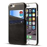 Rssviss iPhone 6 plus Hülle Echt Leder Handyhülle für iPhone 6s plus Handyhülle Brieftasche [2...