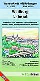 Weilburg - Lahntal: Wanderkarte mit Radwegen, Blatt 45-559, 1 : 25 000, Braunfels, Leun, Löhnberg, Mengerskirchen, Runkel, Solms, Villmar, ... (NaturNavi Wanderkarte mit Radwegen 1:25 000)