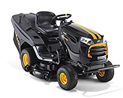 McCulloch M200-107TC Powerdrive 656 cc Petrol Ride on Tractor with Integrated Collection-Black