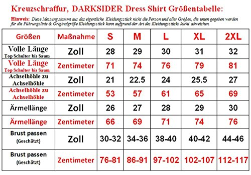 CrossHatch -  Camicia Casual  - Uomo Blue Check
