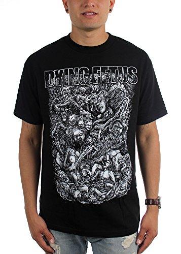 "Goblins ""Dying Fetus-Maglietta da uomo nero Medium"