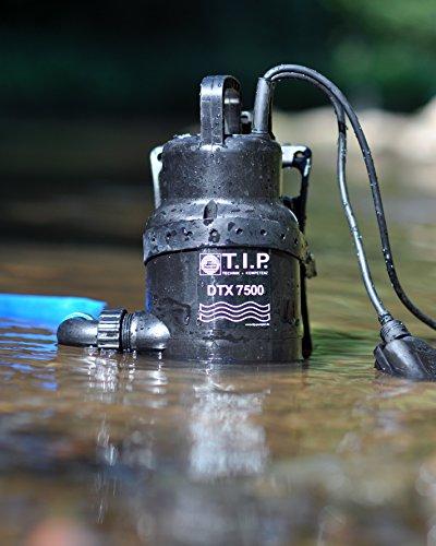 TIP-30258-dauerlauffeste-Schmutzwasser-Tauchpumpe-Umwlzpumpe-DTX-7500-T-inkl-Trgersystem-bis-7500-lh-Frdermenge-Bundle