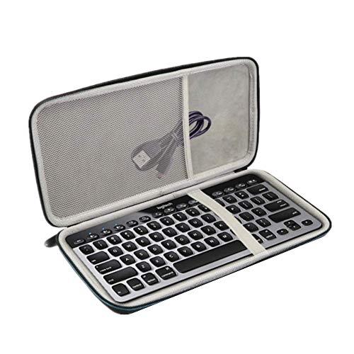 Yuhtech Eva Aufbewahrungstasche Tragetasche für Logitech K810 920 K811 Tastatur (Wasserdichte Tastatur Logitech)