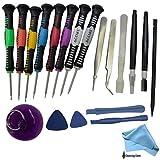 16 in 1 Reparatur Werkzeuge Schraubendreher Set, HTC, iPhone 5 / 4S / 4 / iPad, Blackberry, Samsung