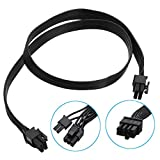 DyNamic Video Graphics Card Power Cable 8Pin Male to Dual 8Pin(6+2) Male PCI-E 60cm