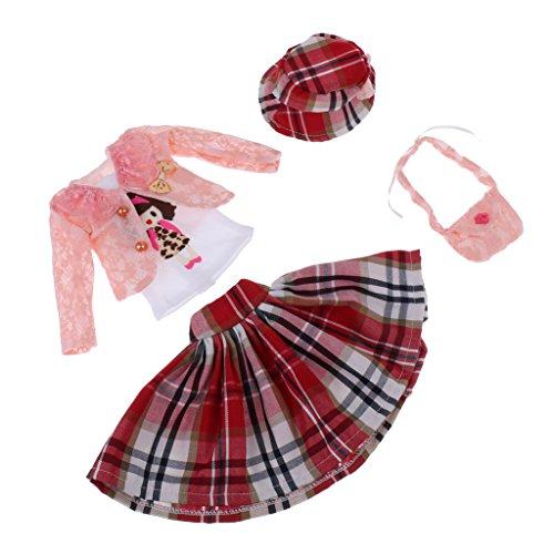 Baoblaze Elegante Puppen Kleidung Für 60cm Nacht Lolita Mädchen Puppen Dress Up Zubehör - # 6