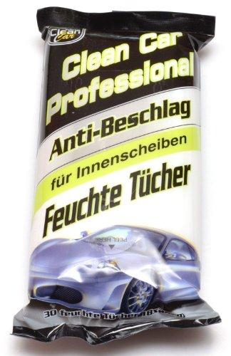 Feuchttücher CLEAN Auto 50g 30er Antibeschlag 18x25cm