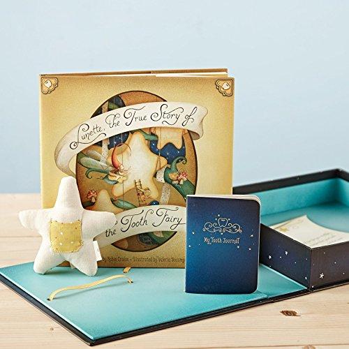 Kompendium Zahnfee Box Set mit Buch, Tagebuch & Kissen -