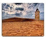 Liili Mauspad Naturkautschuk Mousepad Bild-ID: 5369542Leuchtturm in den Dünen von RUBJERG KNUDE in Dänemark