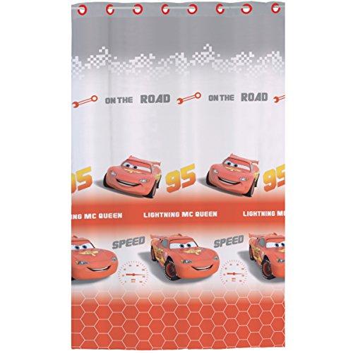 Disney Cars 043897 Fertig-Gardine Go Go Go, Polyester, 140 x 240 cm