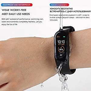 NWHEBET NWHEBET Smartwatch Fitness Tracker, Bluetooth Slim GPS Activity Tracker con Herzfrequenzmessung Schlafmonitor… 7